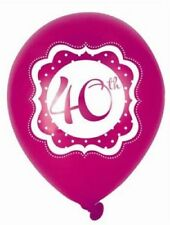 Birthday, Adult Party Standard Balloons 10-50