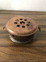 Vintage Christian Wagner Copper Burner Warmer candle holder Made in Germany