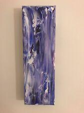 Purple Wood Painting