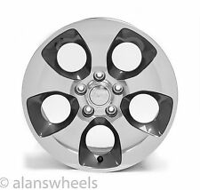 "5 New Jeep Wrangler Sahara 18"" Factory OEM Granite Machined Wheels Rims 9119"