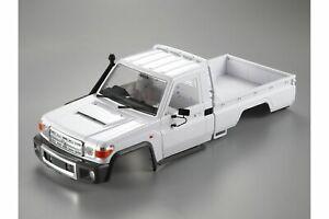 Killerbody TRX-4 Toyota Land Cruiser 70 Series Unpainted Hard Body w/ Decal S...