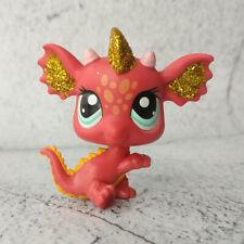 LPS #2484  Littlest Pet Shop Hasbro Sparkle Dragon Loose Toy RareGift