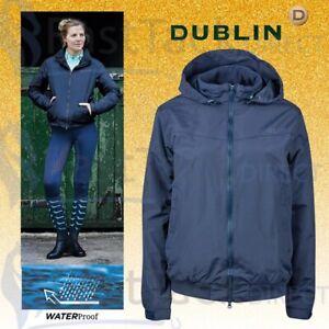WATERPROOF RIDING COAT   Dublin Ladies Trinity Blouson Jacket   UK 8 - 18