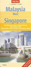 Nelles Malaysia (West) & Singapore Map *FREE SHIPPING - NEW*