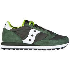 Saucony sneakers women jazz o' 2044/275 Verde scuro / Bianco logo detail shoes
