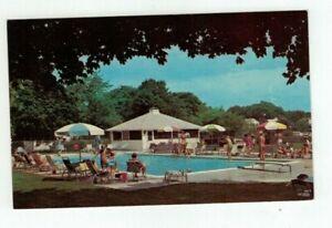 "NY Greenport Long Island New York vintage post card - ""Townsend Manor Inn"""