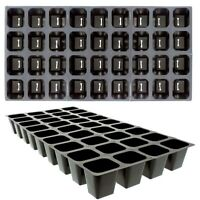 Seed Starting Tray Inserts, 72 Medium Cells Growing Supply, Propagation 2 Trays