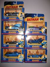 7 CORGI DC BATMAN BATMOBILE JOKERMOBILE CARS