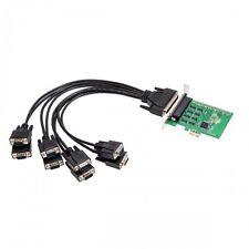 Syba SI-PEX15041 8 Port RS-232 DB9 Serial PCI-e 2.0 x1 Card