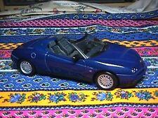 Maisto   1/18  Alfa Romeo Spider Blue