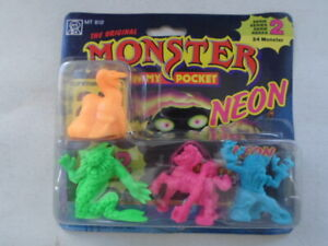 Monster in my pocket neon series 2 matchbox 1991 sealed card