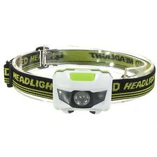 600LM R3+2 LED Headlight 3xAAA Headlamp Bike Bicycle Light With Headband 4 Modes