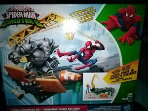 Marvel ULTIMATE SPIDER-MAN Sinister 6 Rhino Rampage Playset Action Figures