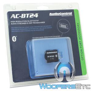 AUDIOCONTROL AC-BT24 HIGH RESOLUTION BLUETOOTH AUDIO STREAMER DSP PROGRAMMER NEW
