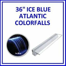 "ATLANTIC WATER GARDENS COLORFALLS 36"" W/ ICE BLUE LED LIGHTS COLOR FALLS"