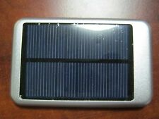 Silver Solar 10000mAh Portable USB External Battery Charger Power Bank Phone