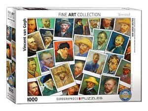 Eurographics 1000 Piece Jigsaw Puzzle - Van Gogh: Selfies