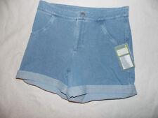 Women's Lysse Hi Waist Hourglass Shaping Light Blue Jean Shorts Size Small