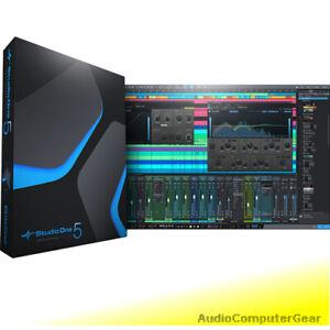 PreSonus STUDIO ONE 5 PROFESSIONAL Pro DAW Full Recording Software NEW