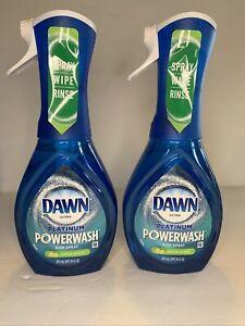Dawn Ultra Powerwash Apple Scent Dish Spray 2 Pack  16 Oz Bottle Washing New
