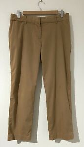 """Witchery Size 10 Pants Camel Brown Mid Rise - Crop Ankle Short 25.5"""" Leg - Work"""