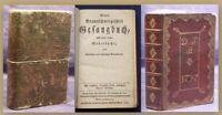 Neues Braunschweigisches Gesangbuch 1794 Religion Liedrbuch Kirchenlieder sf