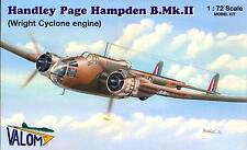 Valom Models 1/72 British HANDLEY PAGE HAMPDEN B.Mk.II Bomber