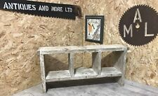 3 Hole Rustic Up-Cycled Bench.