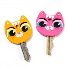 Gama-go Key Cats Key Cap Set 2 Kitty Cat Key Cover Organizer Separator Cute Gift