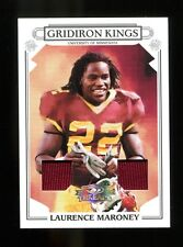 Laurence Maroney 2007 Gridiron Kings Threads Patriots Minnesota Mint 30997