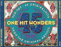 (3CD's) One Hit Wonders - Johnny Wakelin, F.R. David, Max Werner, Daniel Boone