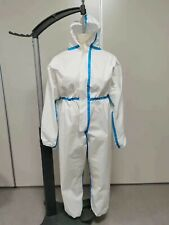 Protective Hazmat Suit Gown Coverall Personal Protection Sizes(M,L&XL)