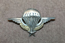 Original 1950's Indo-China War French Army Paratrooper's Metal Jump Wings