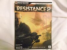 RESISTANCE 2 Strategy Guide w/Foldout PlayStation 3 Exclusive Shooter Insomniac
