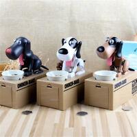 Automated Dog Steal Coin Bank Piggy Bank Money Saving Box Chrismas Gift Cute E