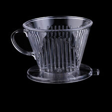 Cone Resistant High-temperature Coffee Tea Filter Funnel Drip Dripper V-type Cup