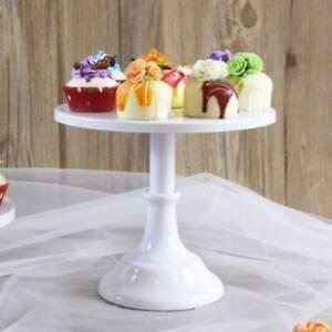 10 Inch Iron Round Cake Stand Pedestal Birthday Dessert Holder Wedding Party