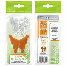 tonic Studios verso rococo stamp & die set butterfly Laura 1041e