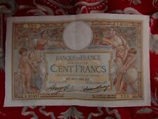 ancien billet france 100 francs cent merson E 43427 22 2 1934 753 KY