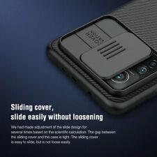 For NILLKIN Xiaomi Mi 10T Pro 5G Camera Protection Slide PC Hard Slim Cover Case