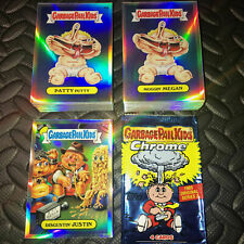 GARBAGE PAIL KIDS CHROME 2 COMPLETE 110-CARD REFRACTOR SET +WRAPPER 2014 RARE!