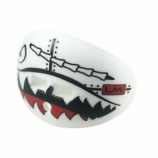 Military Flying Tiger White Football Mouth Guard
