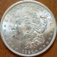 1921 Morgan Dollar BU**** Check It Out!  KM# 110 #AA354-9