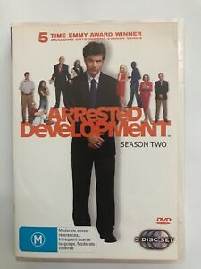 Arrested Development : Season 2 (Region 4 DVD, 2006, 3-Disc Set, Jason Bateman)