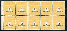 stamp / TIMBRE FRANCE NEUF N° 709 ** bloc de 10 timbres type A R C de TRIOMPHE