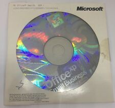 ORIGINALE MICROSOFT MS Office XP Small bussiness OEM SBE DVD + KEY