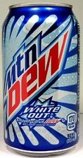 FULL American Pepsi Mountain Dew White Out Limited Edition USA (2011 Packaging)