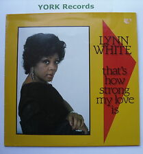 LYNN WHITE - That's How Strong My Love Is - Ex Con LP Record Panarecord PRI 3008