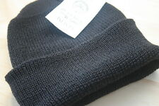 US Military G.I. Issue Navy Knit Watch Cap 100% wool
