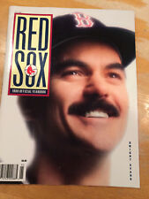 BOSTON RED SOX 1989 OFFICIAL YEARBOOK